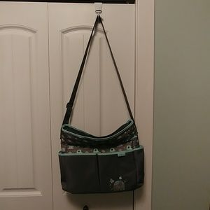 Gender neutral diaper bag